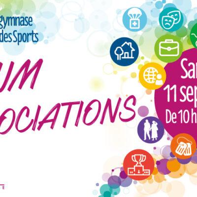 visuel sur Forum des associations 2021