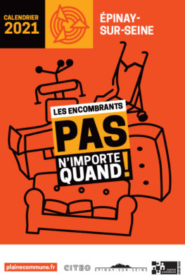 Calendrier de collecte des encombrants 2021   Mairie d'Épinay sur