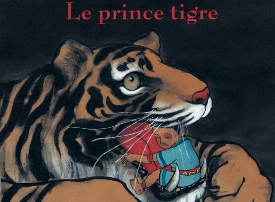 Le prince tigre sur les Berges de seine